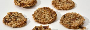 Cookies graines germées crues biologiques raw organic sprouted seeds cookies